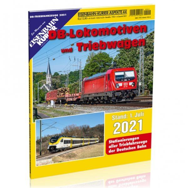 EK-Aspekte 44: DB Lokomotiven und Triebwagen 2021
