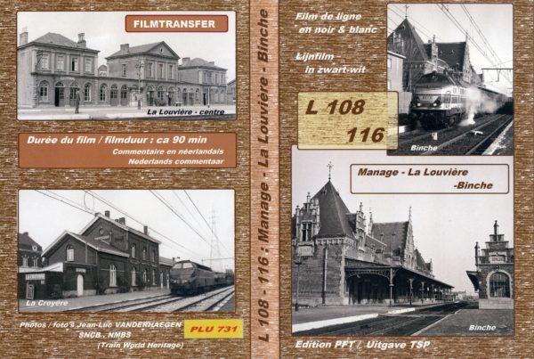 Lijn 116/108 Manage - La Louvière - Binche