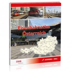 Eisenbahnatlas Österreich uitgave 2021 (verschijnt in herfst 2021)