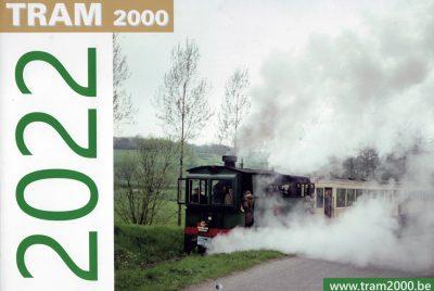Maandkalender Belgische Trams 2022 (stad- en streekvervoer)